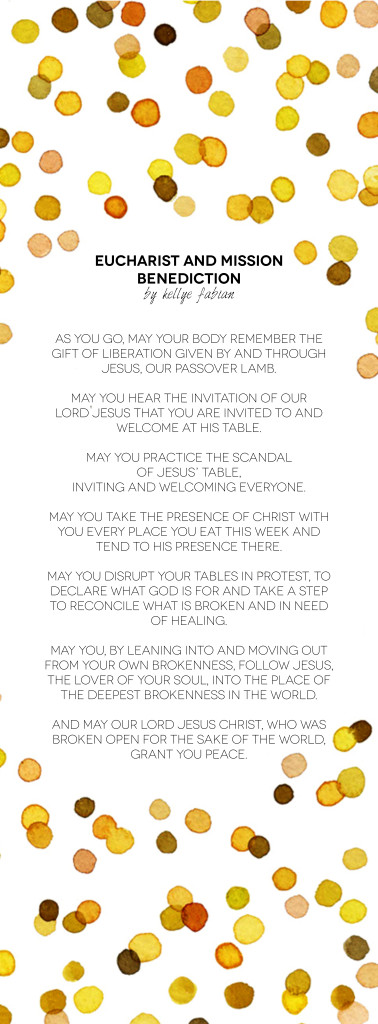 Eucharist And Mission Benediction2