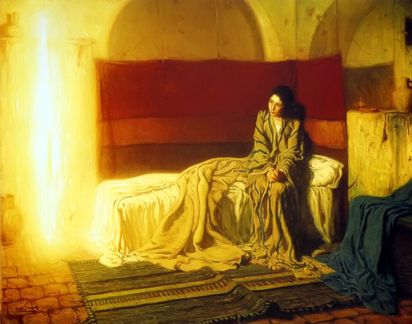 The Annunciation by Henry Osawa Tanner